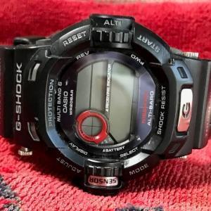 腕時計カシオGショックの電池交換にトライ