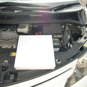 エンジンエアーフィルターとエアコンフィルターを交換