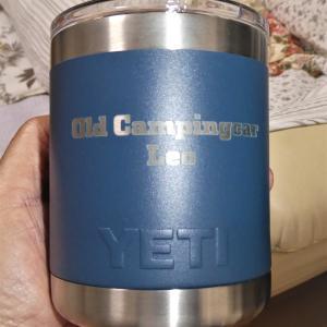 アメリカ土産にYETIのマグを頂きました