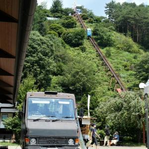 道の駅 南きよさと で 南八ヶ岳花の森公園へ
