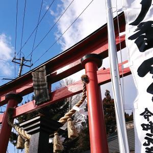 小田神社に元朝参り。