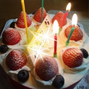 夫 55歳!お誕生日おめでとう!~