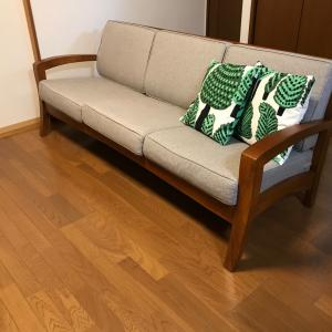 我が家のソファ