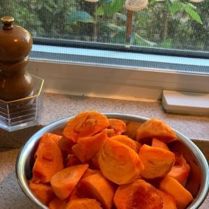 柿のタルト・タタン