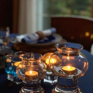 食卓にキャンドルを灯して