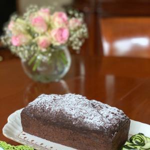 ズッキーニ・チョコレートケーキ♪
