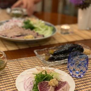 冷酒を楽しむ和食ごはん♪