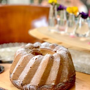 午後のお茶〜グルテンフリーの丸ごと柚子ケーキ〜