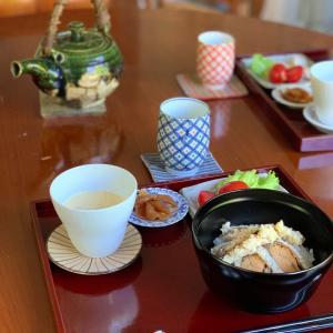 贅沢な朝ごはん〜鮒寿司〜