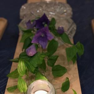 新暦 七夕の食卓
