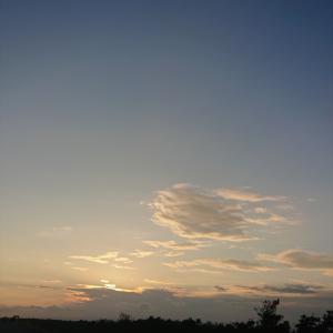 夕陽!(中田島)