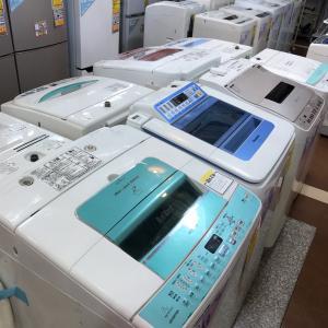 リサイクルショップ 岐阜市 洗濯機いっぱい入荷