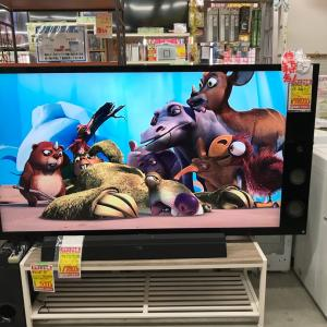 リサイクルショップ揖斐 SONY4K65型液晶テレビ値下げ