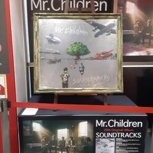 「Mr.Children『SOUNDTRACKS』デイリーand Wチャート」 S7581
