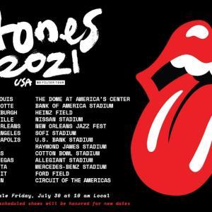 「ローリングストーンズ The Rolling Stones 2021年全米ツアー」S8257