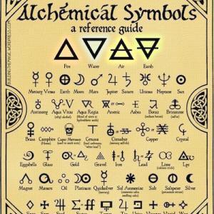 錬金術記号の手紙/N゜1 Sensual Élixir ── 官能の霊薬とアルシミストと賢者の石