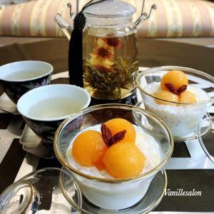 豆花と台湾茶ティータイム