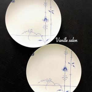 手描きディナー皿