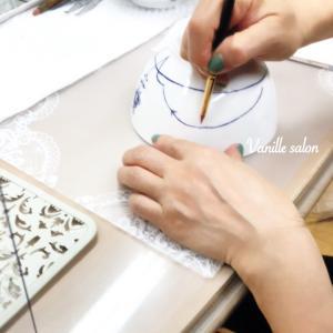手描きでミニ丼