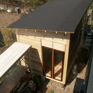 小屋を作ろう。外壁