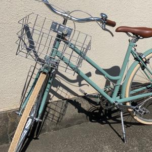レトロチックなかわいい自転車!