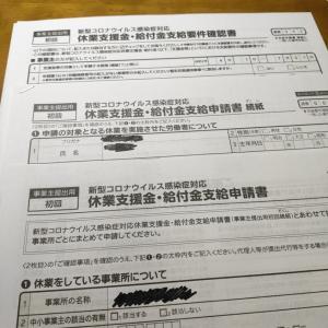 新型コロナウイルス感染症対応休業給付金の申請