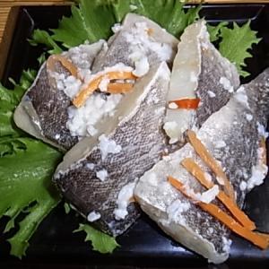 ホッケ飯寿司