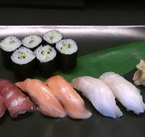 庵IORIで寿司を食べた!