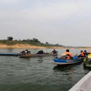 タイ北部のダム湖で渡し船転覆、5人死亡