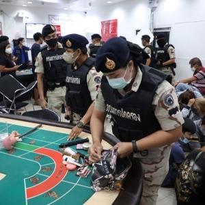 バンパインで賭場摘発、122人逮捕