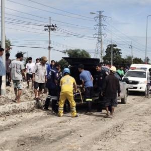 バンコク郊外でパイプライン爆発 3人死亡、50人超けが
