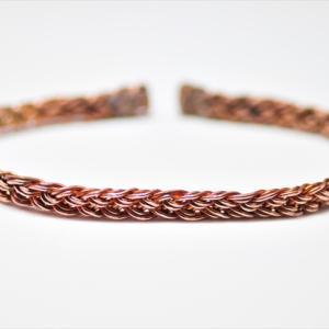 Copper Braid Bracelet ! 10本編み。