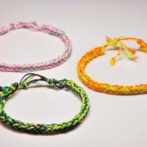 Braid Bracelet。カラフル 2nd!