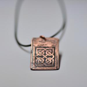 Copperplate Etching! Celtic knots。