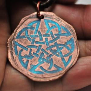 Copperplate Etching! Celtic knots 2nd。