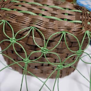 花まくらめ編み