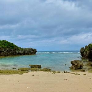 古宇利島渡海(トケイ)浜