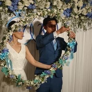 愛と笑顔溢れる結婚式の司会をさせていただきました