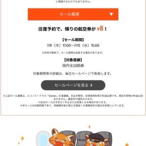 8円セール、初めて利用