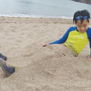 今年の夏休み⭐夏の思い出①恒例の海&おすすめのうどん屋さん