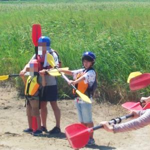 夏の思い出④カヌー体験