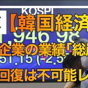 【韓国経済】 大手企業の業績が「総崩れ」、文政権に経済回復はもはや不可能か  ★2