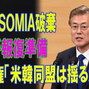 【アメリカ】韓国GSOMIA破棄で米が報復準備 ★4