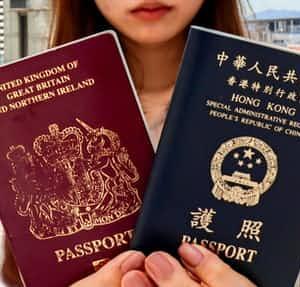 中国、英国パスポートを無効にすることを決定 「有効性認めない」