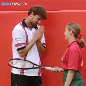 プロテニスツアー、賞金がかかった試合でもこんなびっくりが許された、1997年の夏の日の出来事・・w