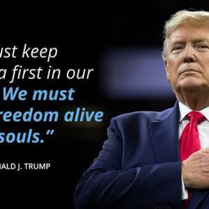 ん? 「来週はアメリカ史上最大となり、緊張が高まりますが、私たち全員がアメリカ人であることを忘れないでください。暴力は答えではありません!!!」