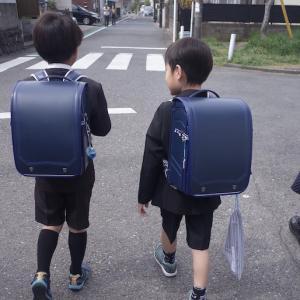 おボンの小学校入学式