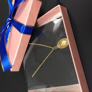 ご注文 - フランス奇跡のメダイのネックレス - gold chain