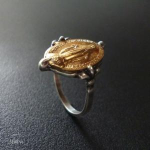 制作中 - フランス奇跡のメダイのリング - gold