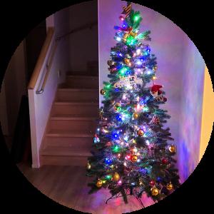 今年もクリスマスツリーを出しました。家の間取りって、全てを決め過ぎない方がいいかもしれない。